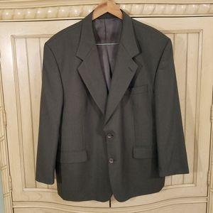 Vintage Brown Blazer, sz 46S